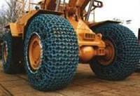 Шинозащитные цепи, кольчуги на колеса, покрышки для карьерной техники