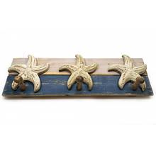 Вешалка деревянная Морские звезды