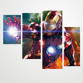 """Модульна картина """"Iron Man \ Залізна людина"""""""