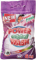 Порошок для стирки 6кг Color Power Wash HIM-80281