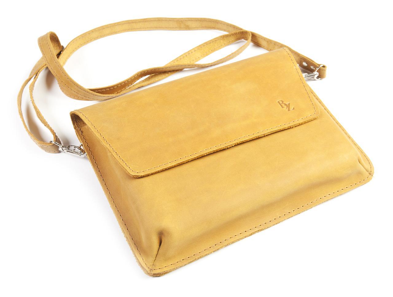 ba09afc0f Женская кожаная сумка «Надин» - Интернет-магазин кожаных аксессуаров ручной  работы BOGZ в