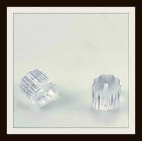 Силиконовые заглушки для сережек Шестеренка (вес примерно 10 г)