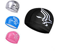 Комплект для плавания - очки, шапочка и беруши, Black, фото 3