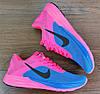 Женские кроссовки Nike Air Max LunarLaunch. Синие с розовым, фото 4