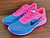 Женские кроссовки Nike Air Max LunarLaunch. Синие с розовым, фото 5