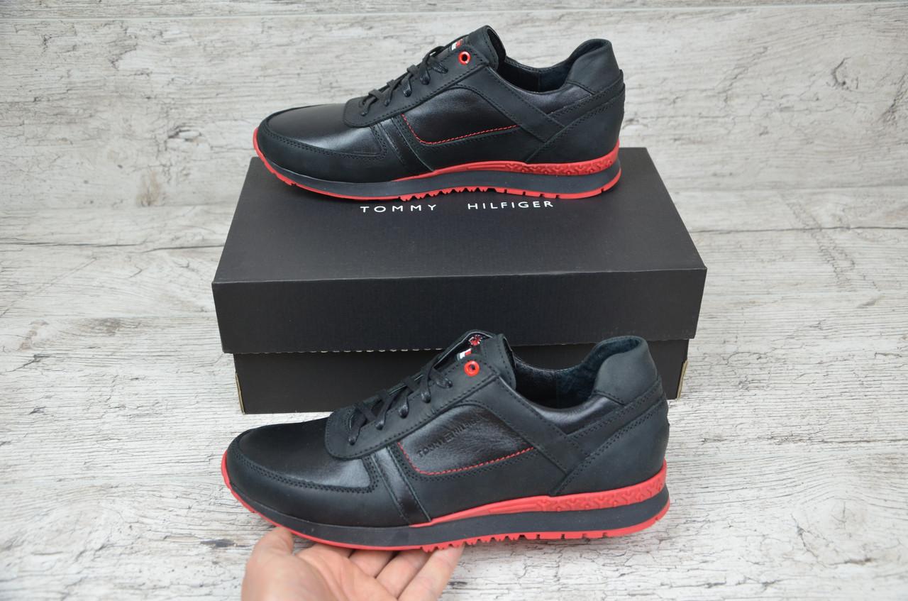 Мужские кожаные кроссовки Tommy Hilfiger (Реплика ААА+) - купить по ... 0db6228e0a55e