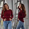 Женский свитер Мила, бордо