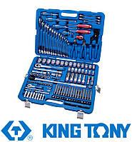 """Набор инструментов 153 ед. 1/4""""+1/2"""" King Tony 7553MR01"""