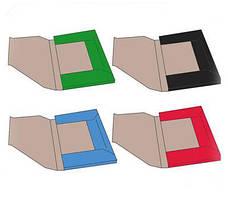 Папки цветные (трехслойный гофрокартон)