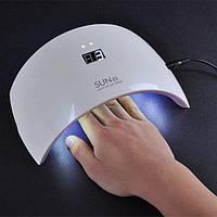 UV + LED Лампа для маникюра SUN 9S 24w дисплэй