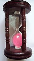 Песочные часы бамбуковые размер 11.5*7