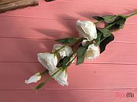 """Искусственный цветок """"Эустома"""" молочный, фото 1"""