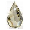 Хрустальные подвески 681 Preciosa (Чехия) 6х10 мм Crystal Blond Flare