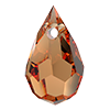 Хрустальные подвески 681 Preciosa (Чехия) 6х10 мм Crystal Celsian