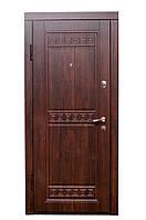 Входные двери EuroDoor 986 960L левые Орех темный