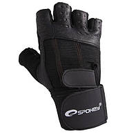 Мужские перчатки для фитнеса Spokey TORO XL Черный (s0302)