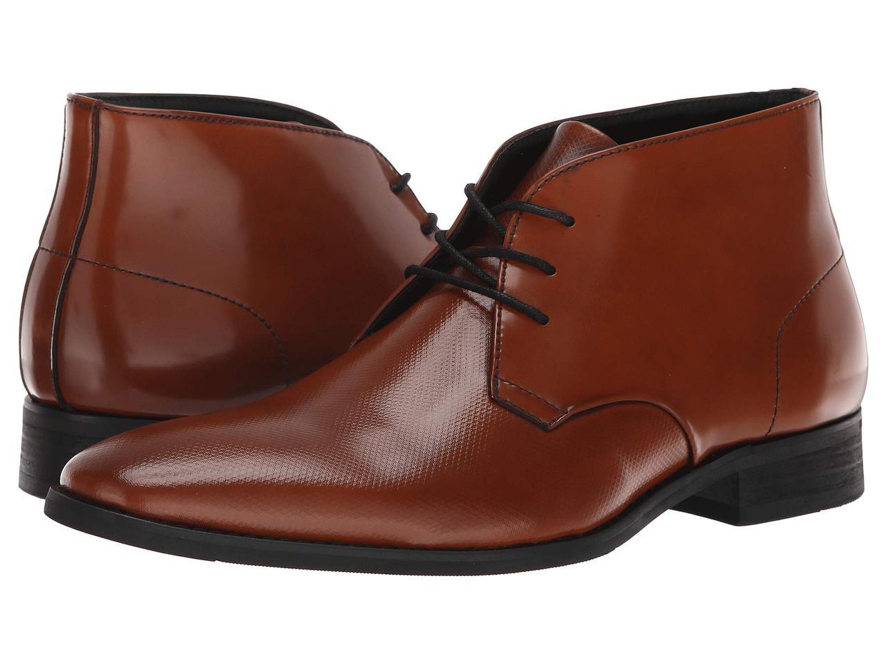 f89dc8556ca7 Ботинки/Сапоги (Оригинал) Calvin Klein Rolando Cognac - Bigl.ua