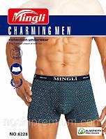 Трусы мужские боксеры х/б Mingli ТМБ-212