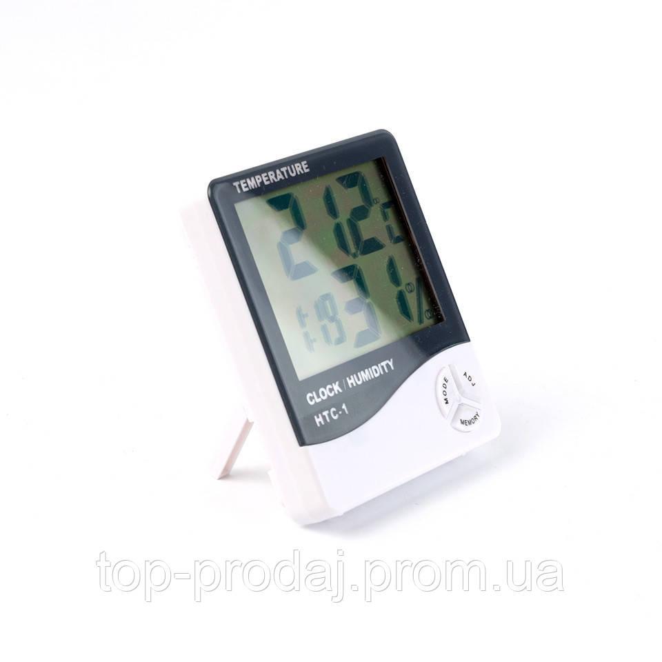Термометр HTC-1, Электронный гигрометр термометр, Комнатный прибор измерения температуры, Измеритель влаги