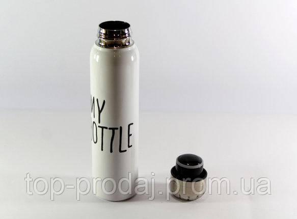 Термос 9045, Вакуумный термос термочашка My bottle, Термос чашка 320 мл, Питьевой термос