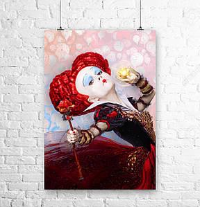 Постер Алиса в Стране Чудес / Alice in Wonderland. Размер 60x42см (A2). Глянцевая бумага