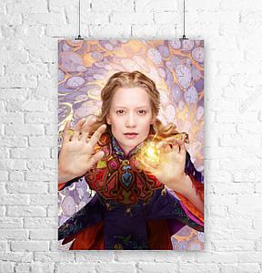 Постер Алиса в Стране Чудес, Alice in Wonderland. Размер 60x42см (A2). Глянцевая бумага