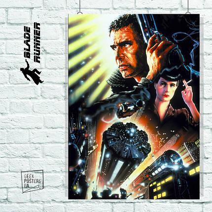 Постер Бегущий по лезвию, Blade Runner (1982). Размер 60x42см (A2). Глянцевая бумага, фото 2