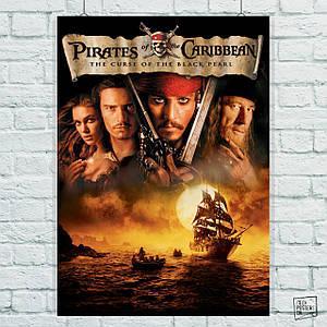 Постер Пираты Карибского Моря: Проклятье Чёрной Жемчужины (60x85см)