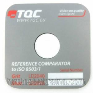 Эталон шероховатости (компаратор профиля поверхности) TQC LD2040 по ISO 8503-1