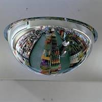 Купольное охранное зеркало 600/360
