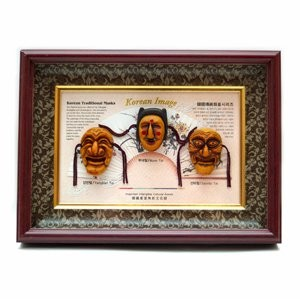 Корейская картина «Три маски Тал»