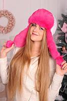 Новая коллекция меховых шапок ушанок для женщин