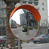 Обзорное сферическое  зеркало (дорожное) UNI 600 cap