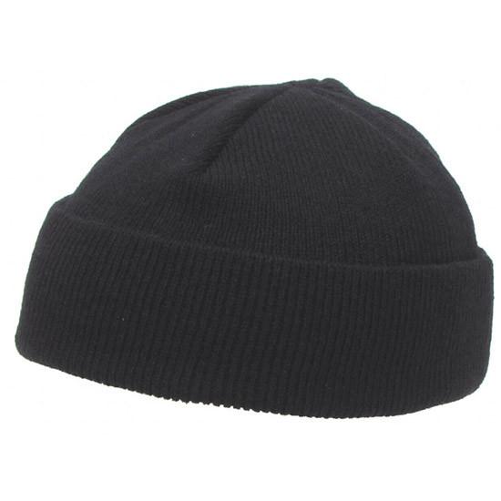 шапка вязаная короткая чёрная Mfh 10924a продажа цена в киеве