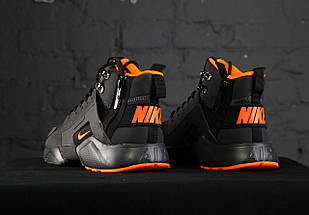 Мужские кроссовки Nike Huarache Acronym Concept Black/Orange, фото 2