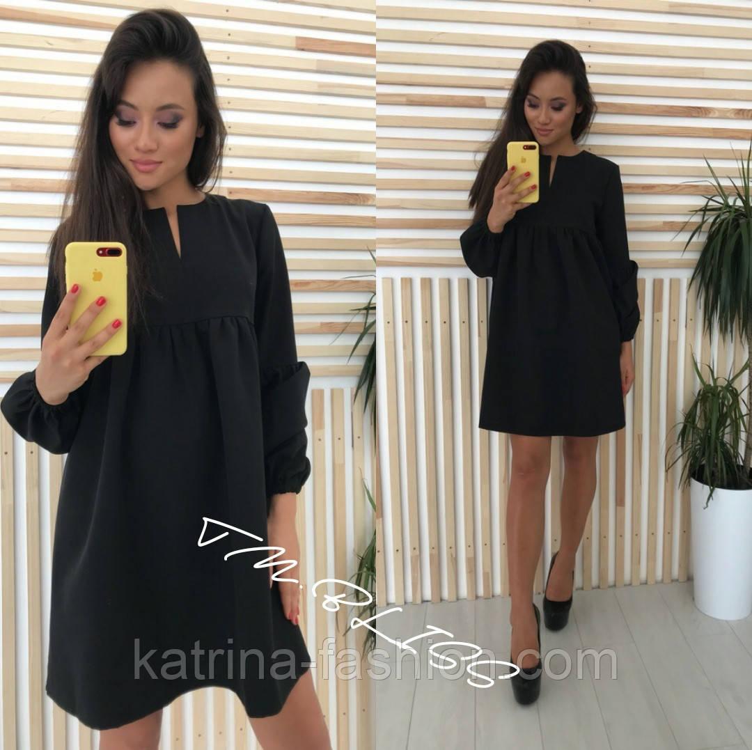 Женское стильное платье (4 цвета)