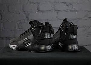 Мужские кроссовки Nike Huarache Acronym Concept Black, фото 3