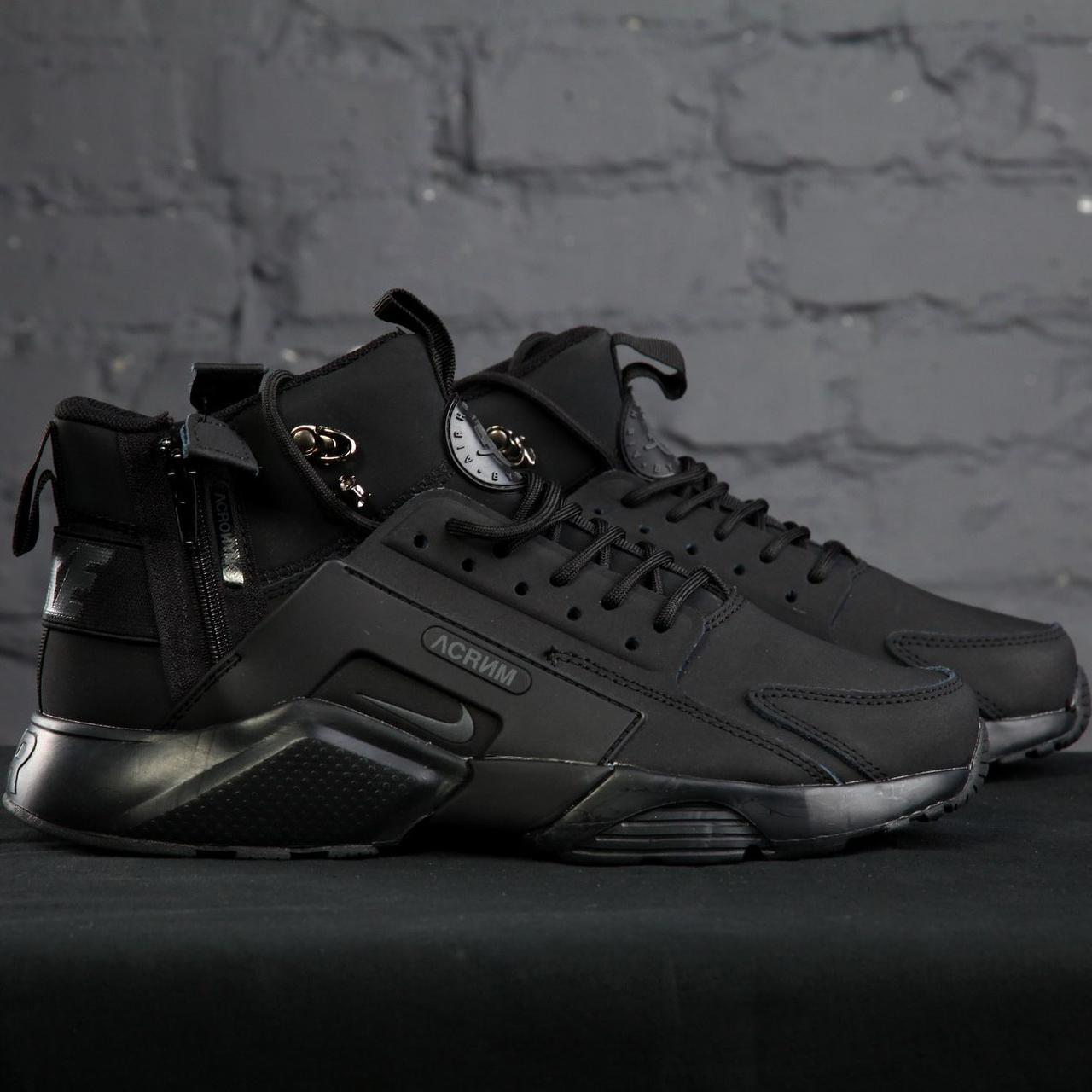 Мужские кроссовки Nike Huarache Acronym Concept Black