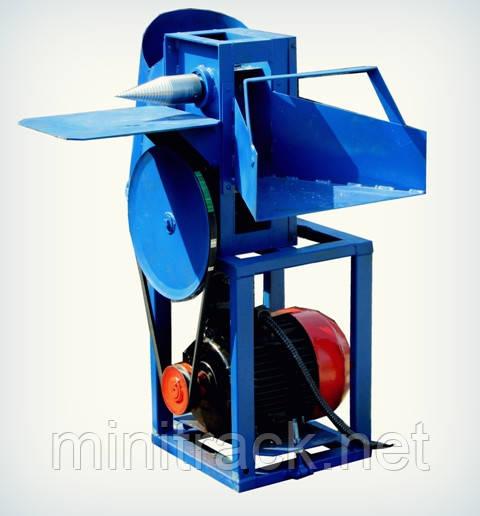 Измельчитель веток с дровоколом для электродвигателя