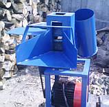 Измельчитель веток с дровоколом для электродвигателя, фото 4
