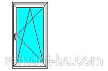 Вікно металопластикове Aluplast 0.66*1.69