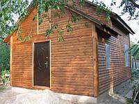 Деревянный дом 9х5.