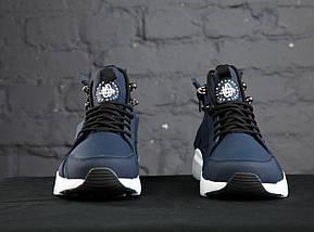 Мужские кроссовки Nike Huarache Acronym Concept Navy/White, фото 2