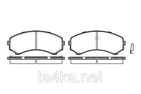 Тормозные колодки передние Grandis, оригинальный номер 4605A041