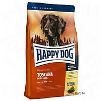 Happy Dog Supreme Toscana сухой корм с ягненком и лососем - 12,5кг