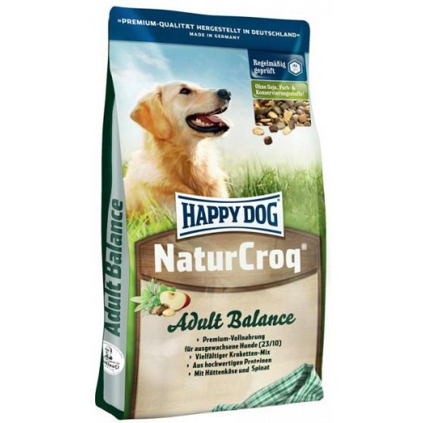 Happy Dog NaturCroq Balance сухой корм для взрослых собак всех пород - 15кг