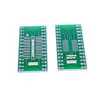 Плата переходник SO28/SSOP28/SOIC28/MSOP28/TSSOP28/SSOP28 на DIP-28
