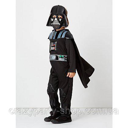 Карнавальный костюм Дарт Вейдер Звездные войны со звуком 9-10 лет
