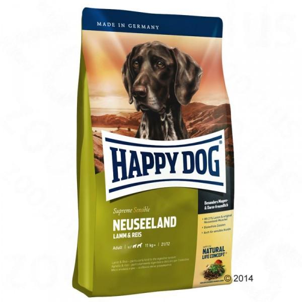 Happy Dog Supreme Neuseeland  сухой корм для собак ягненок - 12.5кг