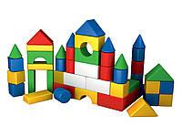 Детский конструктор, набор строительных элементов Веселка 3 (46 деталей) пластик Технок